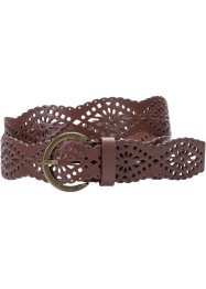 Ceinture Candy, bpc bonprix collection, cognac