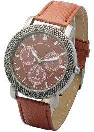 Montre homme, bpc bonprix collection, marron