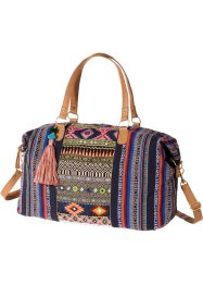 Sac weekend Ethno, bpc bonprix collection, bleu multicolore