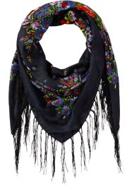 Foulard XXL, bpc bonprix collection, noir