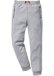 Pantalon de jogging matière Sweat fonctionnel Slim Fit, RAINBOW, gris clair chiné