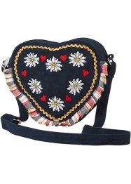 Sac Herzl, bpc bonprix collection, noir/multicolore