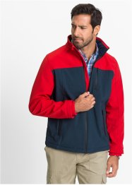 Veste softshell Regular Fit, bpc selection, bleu foncé/rouge