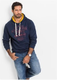 Sweat-shirt Regular Fit, John Baner JEANSWEAR, bleu foncé