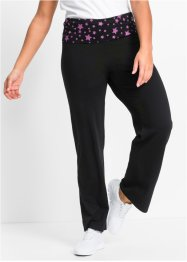 Pantalon de relaxation, long, bpc bonprix collection, noir