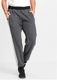 Pantalon de jogging, bpc bonprix collection, anthracite chiné