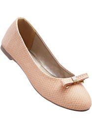 Ballerines en 2 largeurs, bpc selection, rose