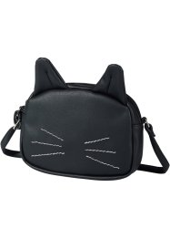 Sac à bandoulière Kitty, bpc bonprix collection, noir
