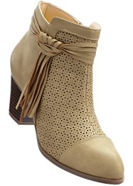Bottines, bpc selection, beige