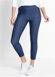Legging 7/8 imitation jean, bpc bonprix collection, indigo