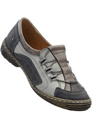 Mocassins confortables, bpc selection, gris clair/anthracite