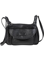 Sac à bandoulière Basic, bpc bonprix collection, noir