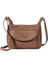 Sac à bandoulière Basic, bpc bonprix collection, taupe