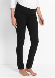 Confortable legging de grossesse niveau bas du ventre, bpc bonprix collection, noir