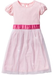 Robe de princesse, bpc bonprix collection, rose dragée/blanc