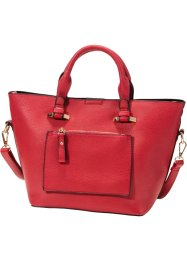 Sac shopper taille M, bpc bonprix collection, rouge