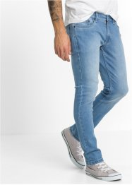 Jean extensible SKINNY, RAINBOW, bleu bleached used