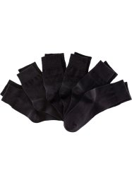 Lot de 6 paires de chaussettes mixtes, bpc bonprix collection