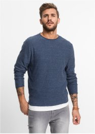 Pull Regular Fit, RAINBOW, bleu foncé chiné