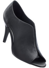 Escarpins peep-toe, bpc selection, noir