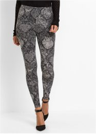 Legging imprimé all-over, BODYFLIRT, gris chiné imprimé