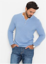 Pull Regular Fit, bpc bonprix collection, gris argent