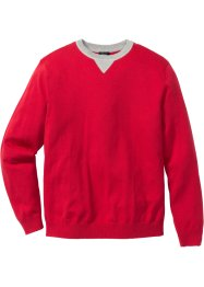 Pull Regular Fit, bpc bonprix collection, rouge