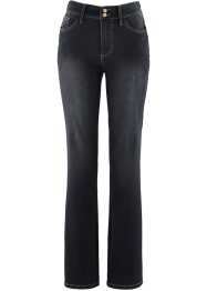 Jean push-up power stretch, bootcut, bpc bonprix collection, noir stone used