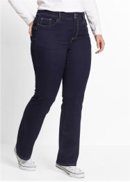 Jean push-up power stretch, bootcut, bpc bonprix collection, dark denim