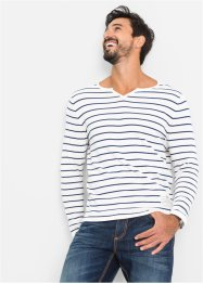 Pull à rayures Regular Fit, John Baner JEANSWEAR