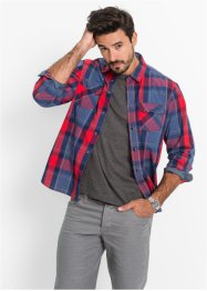 Chemise à carreaux manches longues Regular Fit, bpc bonprix collection