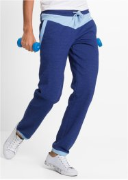 Pantalon de jogging, bpc bonprix collection, bleu nuit chiné