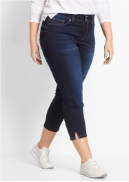 Jean extensible 7/8, bpc bonprix collection, dark denim