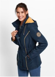 Veste outdoor, bpc bonprix collection, bleu foncé