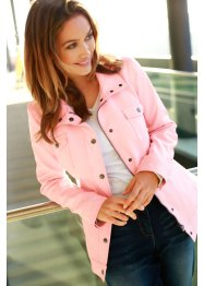 Veste synthétique imitation cuir, bpc bonprix collection, rose clair