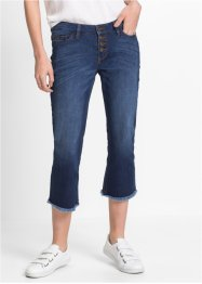 Jean cropped flare, RAINBOW