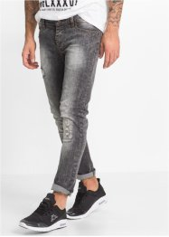 Jean extensible SKINNY, RAINBOW, black moon