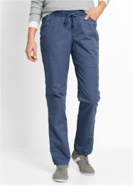 Pantalon froissé, bpc bonprix collection, indigo