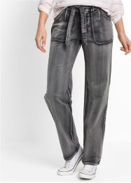 Pantalon cargo extensible, bpc bonprix collection, gris ardoise