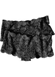 Lot de 2 shorties, bpc bonprix collection, noir