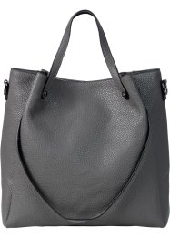 Sac double anse, bpc bonprix collection, gris