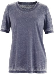 T-shirt effet usé, bpc bonprix collection, bleu gris used