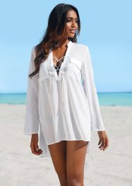 Tunique de plage, bpc selection, blanc