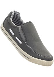Mocassins, bpc selection, gris clair