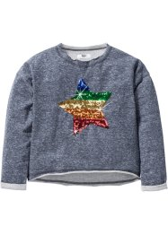 Sweat-shirt avec application en paillettes, bpc bonprix collection