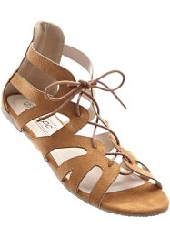 Sandales, bpc bonprix collection, camel