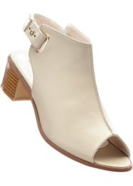 Sandales, bpc bonprix collection, taupe