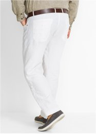 Pantalon lin Regular Fit, longueur modulable, bpc selection