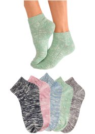 Socquettes pour femme Arizona (lot de 5 paires), Arizona