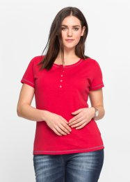 T-shirt manches courtes, John Baner JEANSWEAR, rouge